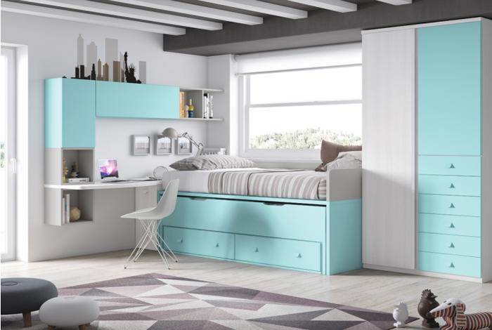 Dormitorio juvenil en Aranda de Duero - Makro Mueble