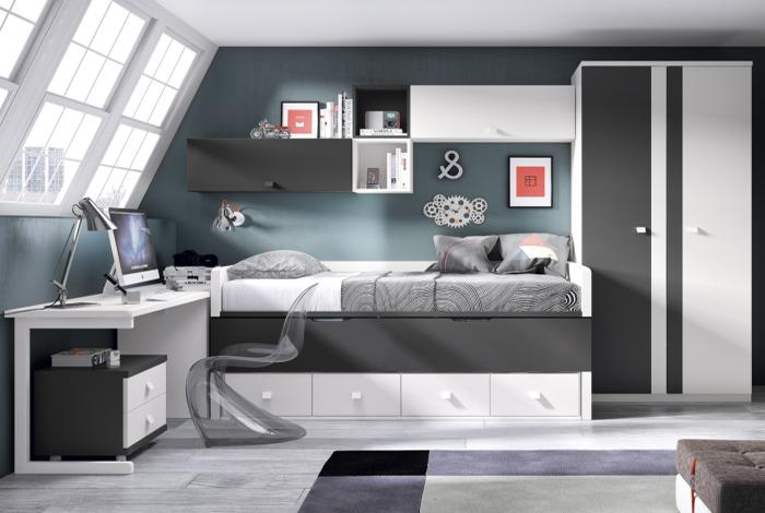 Dormitorio juvenil aranda de duero - Makro Mueble
