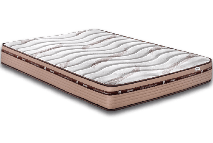 Colchón ultima generación es viscoelástica bronze - Makro Mueble