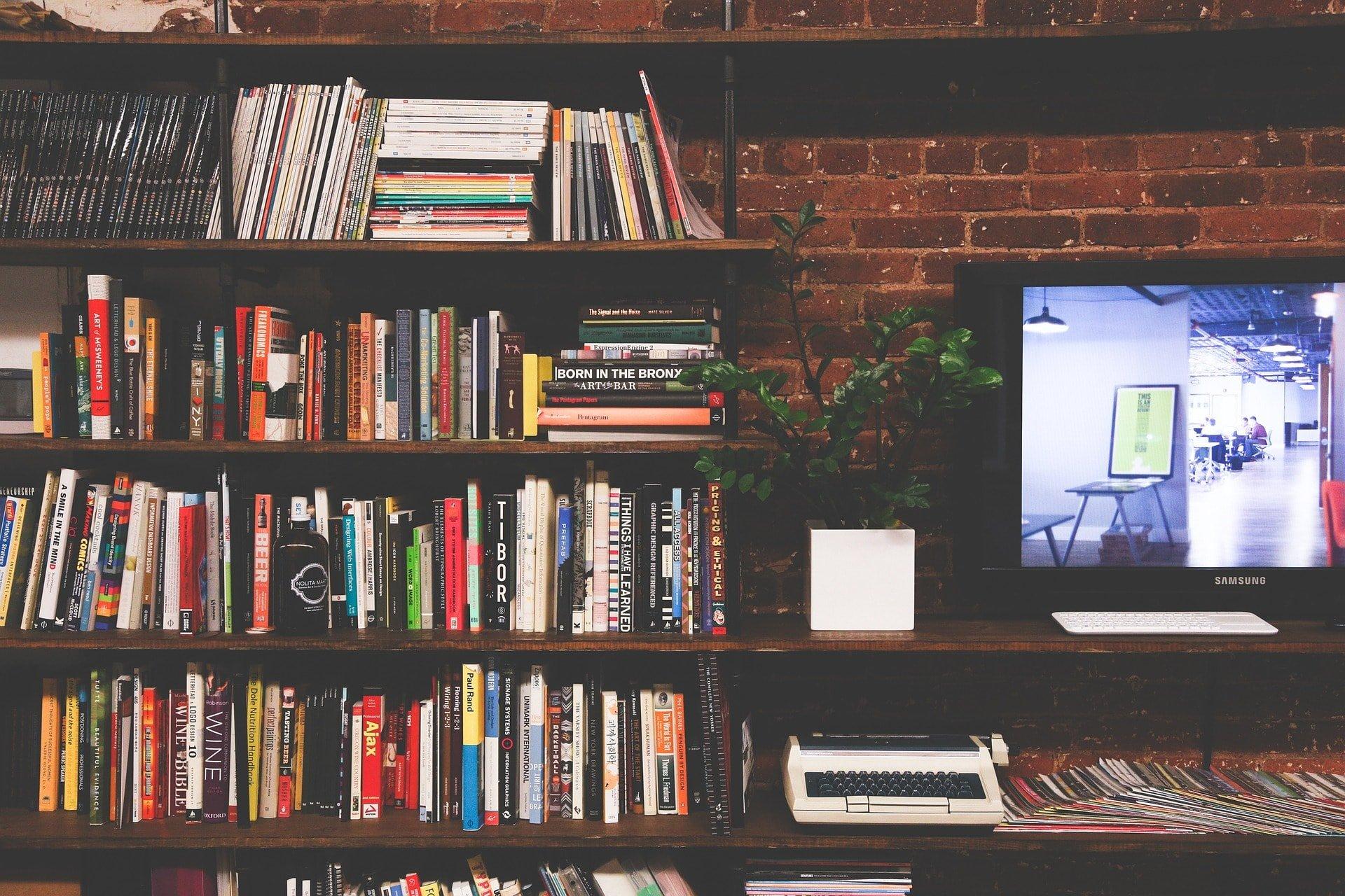 Mesa tv estantería clásica - MakroMueble