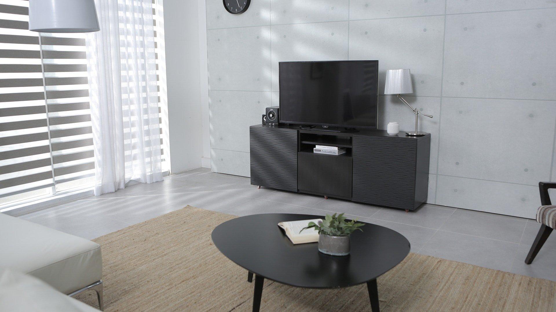 Mesa tv estilo moderno - MakroMueble