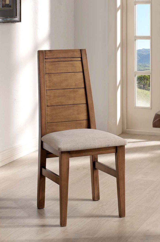 Silla tapizada madera pino - MakroMueble