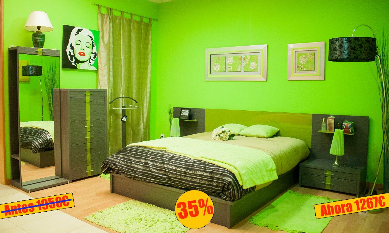 Dormitorio de matrimonio oferta de la semana - MakroMueble