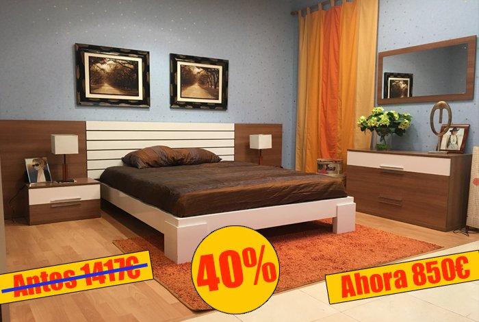 Dormitorio matrimonio compuesto - MakroMueble