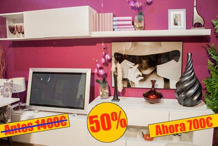 Modular mueble de salon con diseño moderno - MakroMueble